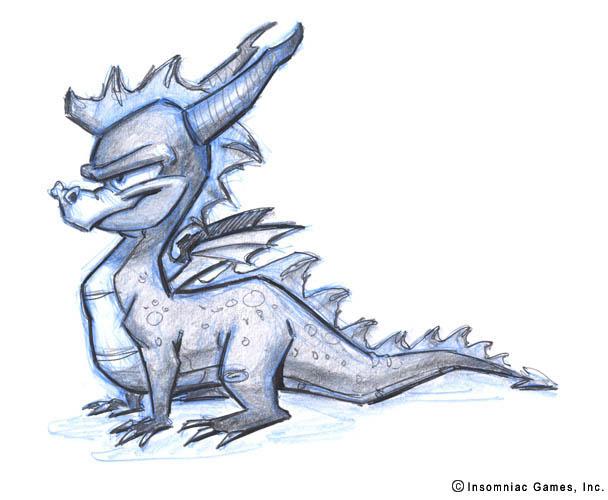 Spyro Character Designs